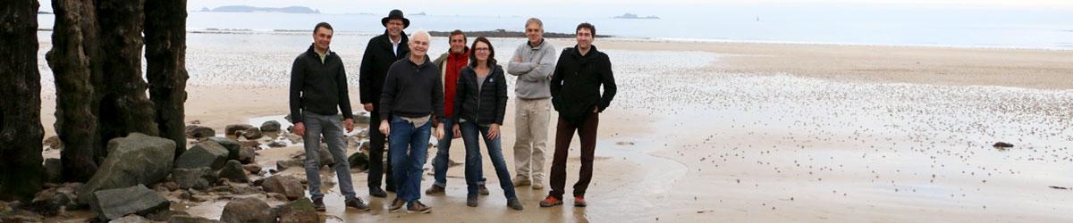 Equipe d'ICEMA à Saint-Malo