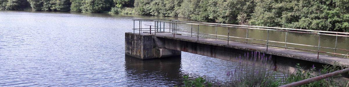 Restauration de la continuité écologique : Arasement du barrage de Montafilan à Erquy